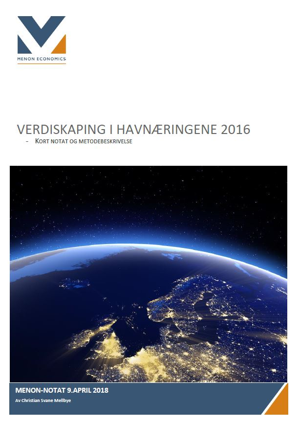 Verdiskaping I Havnæringene 2016