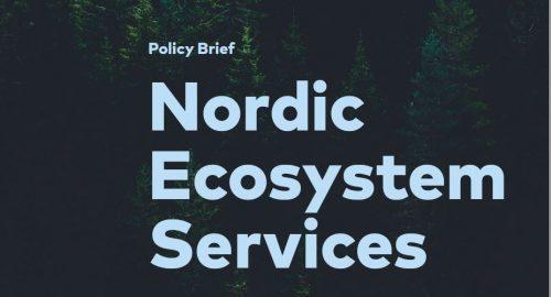 MERE Om Nordiske økosystemtjenester