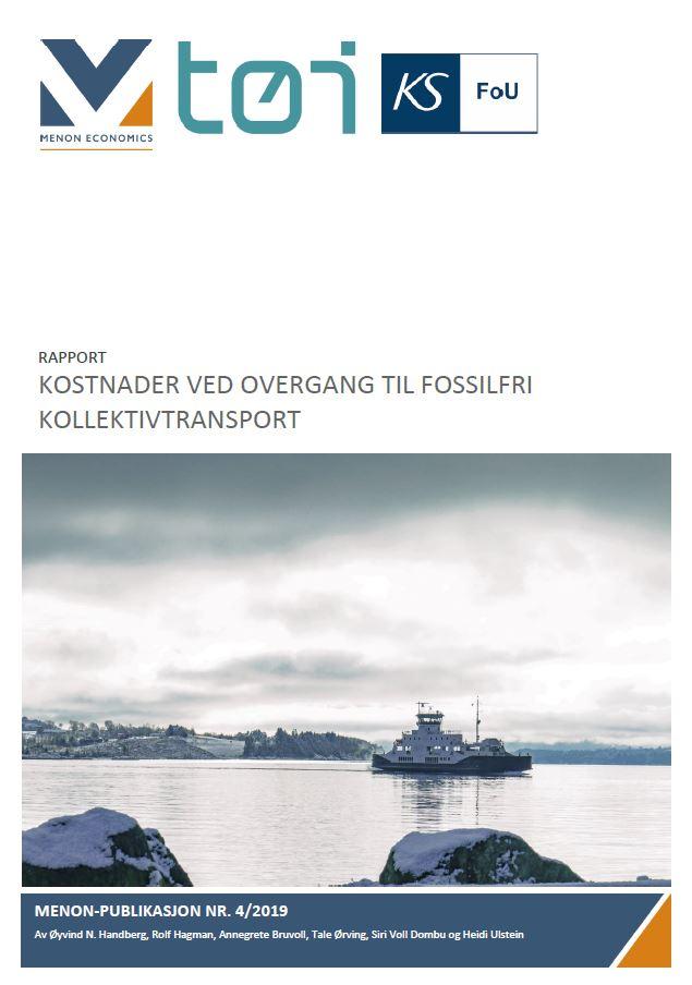 Kostnader Ved Overgang Til Fossilfri Kollektivtransport