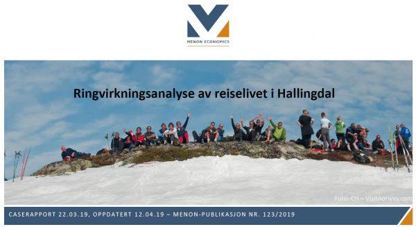 Ringvirkningsanalyse av reiselivet i Hallingdal