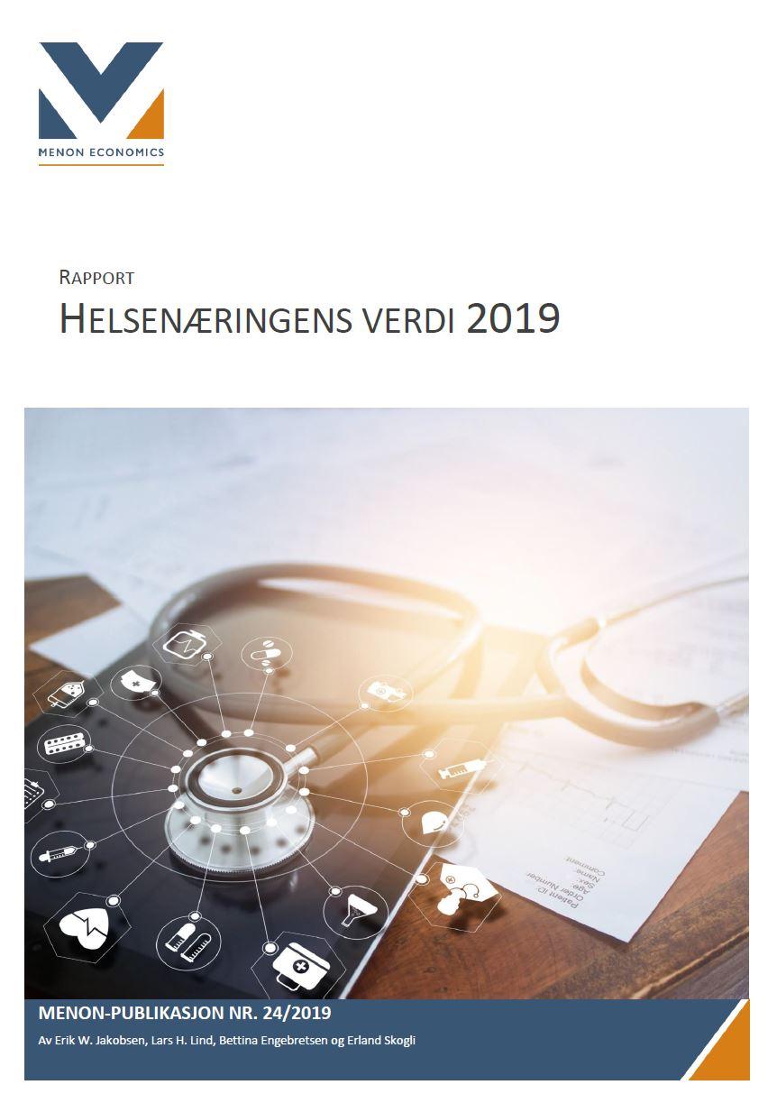 9011a453 Helsenæringens verdi 2019 - Menon Economics