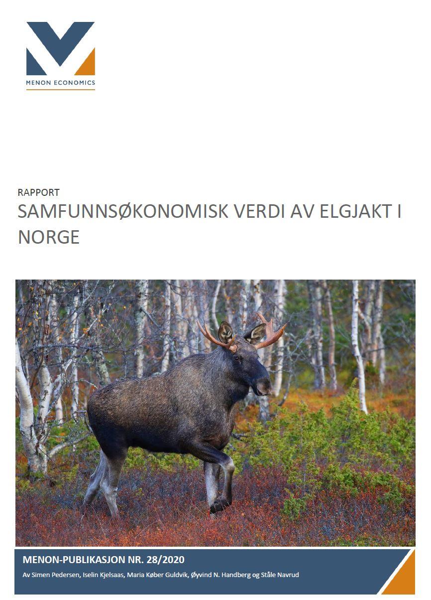 Samfunnsøkonomisk verdi av elgjakt i Norge