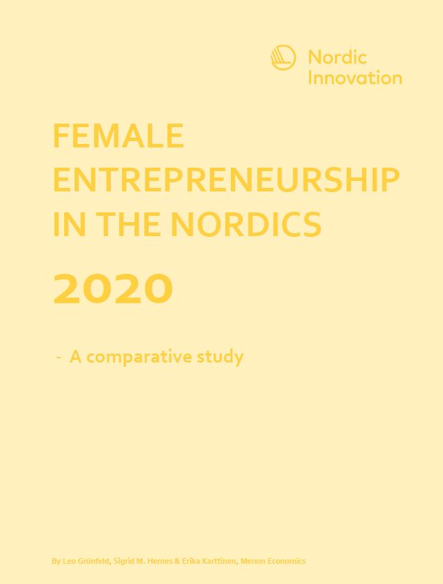 Female Entrepreneurship In The Nordics 2020 – A Comparative Study