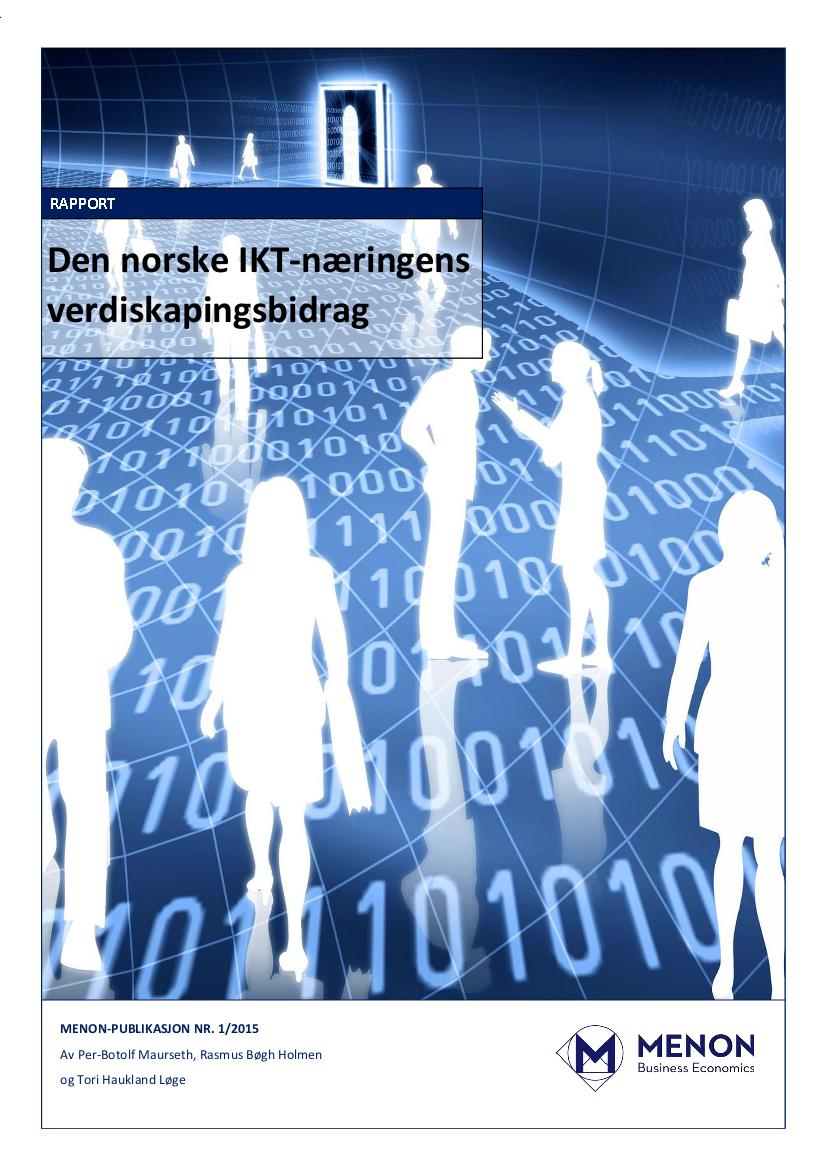 Den Norske IKT-næringens Verdiskapingsbidrag
