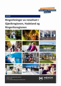 Ringvirkninger av reiselivet i Gjøvikregionen, Hadeland og Ringeriksregionen