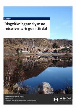 Ringvirkningsanalyse av reiselivsnæringen i Sirdal