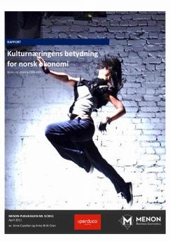 Kulturnæringens betydning for norsk økonomi: Status og utvikling 2000-2009