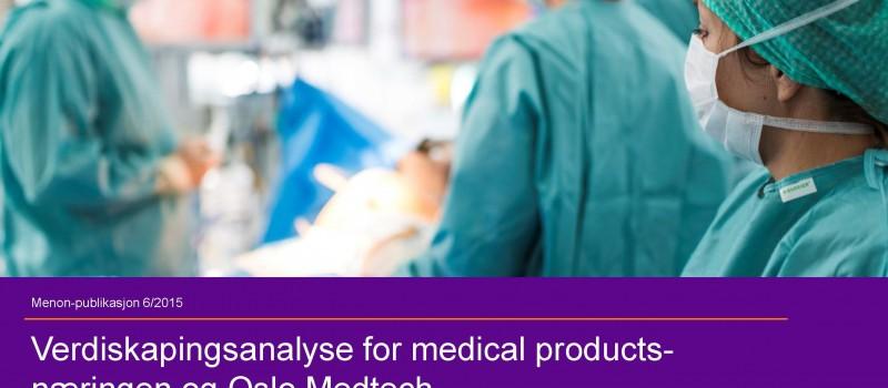 Verdiskapingsrapport Oslo Medtech Forsidebilde 2